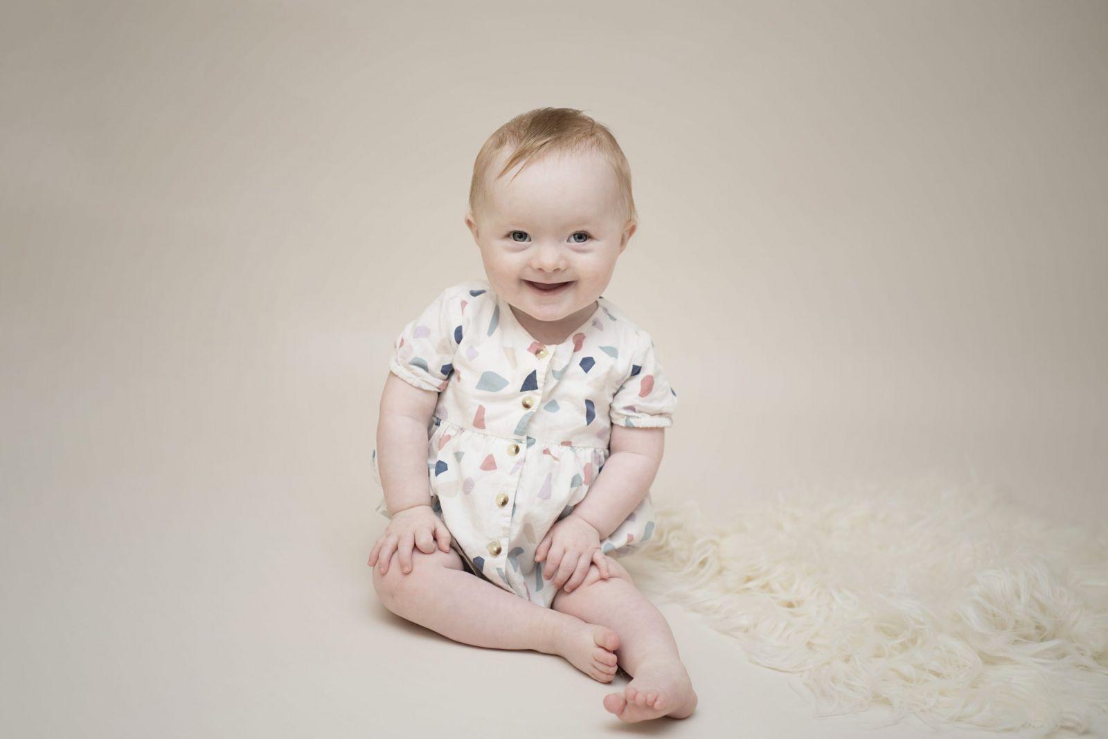 little girl milestone photography Manchester